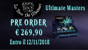 PREORDER ULTIMATE MASTERS